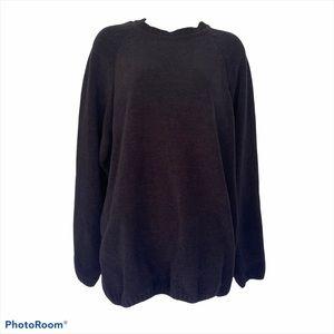 Woody's Retro Lounge Sweater Dusty Black L
